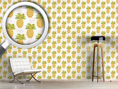 Pattern Wallpaper I Want Pineapples