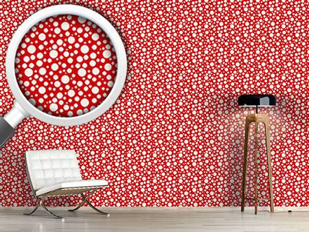 Papier peint design Soda Dots