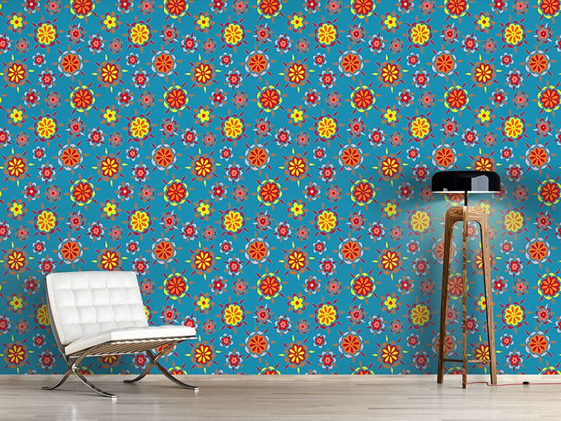 Papier peint design Flower Burst