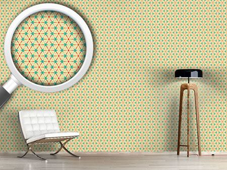 Pattern Wallpaper Circles And Triangles