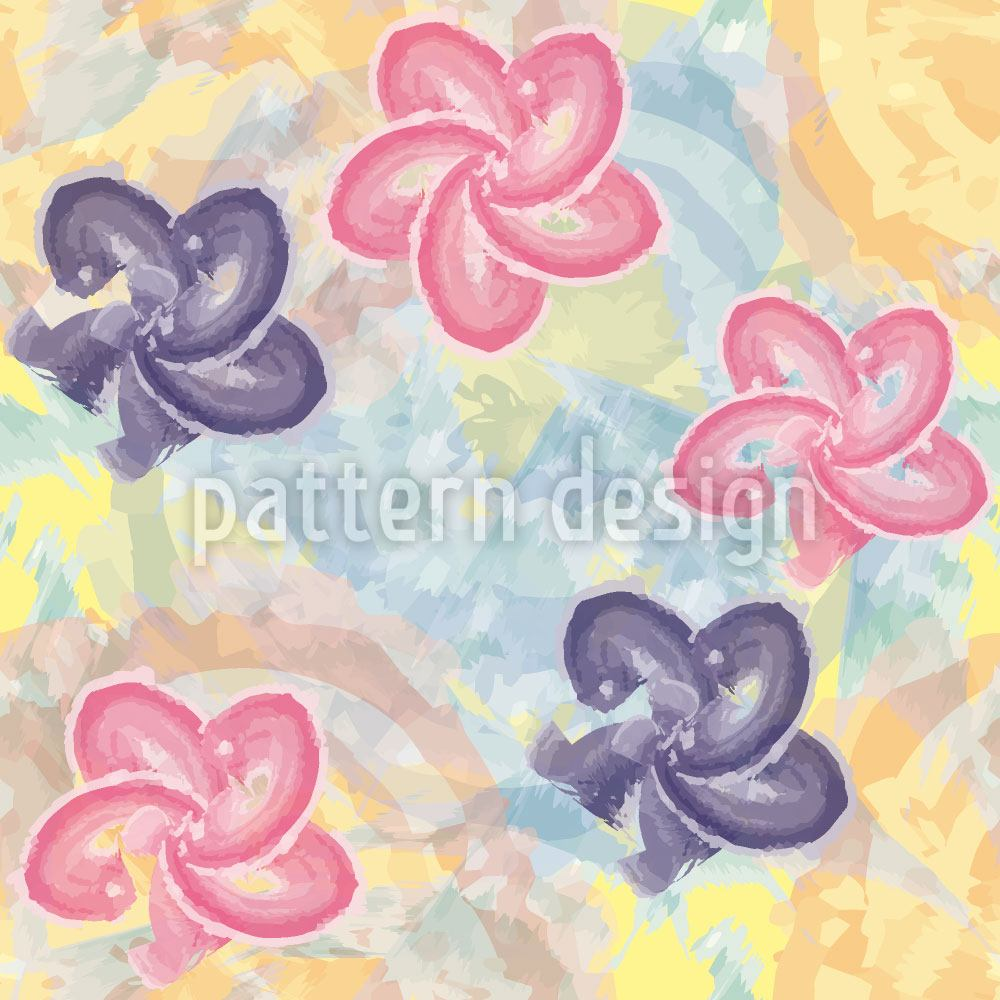 Pattern Wallpaper Vincents Paint Box