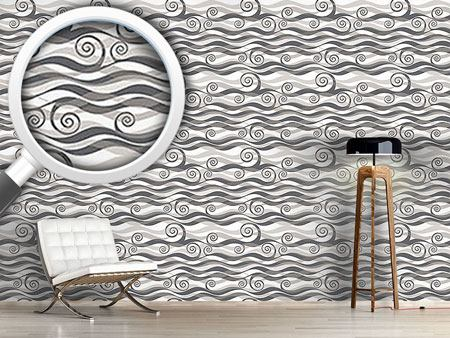 Pattern Wallpaper Triton Grey