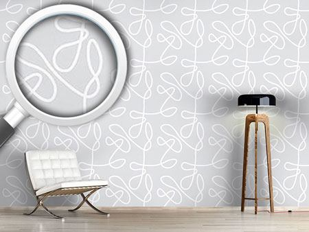 Pattern Wallpaper No Target Grey