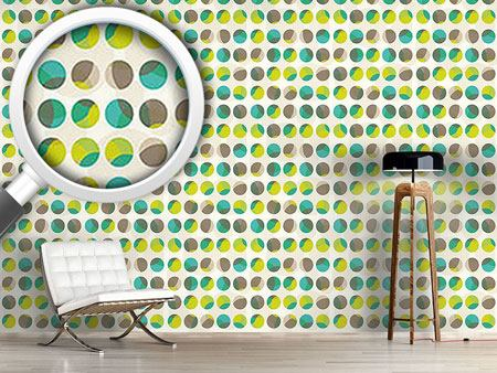 Pattern Wallpaper Marbles In Spring