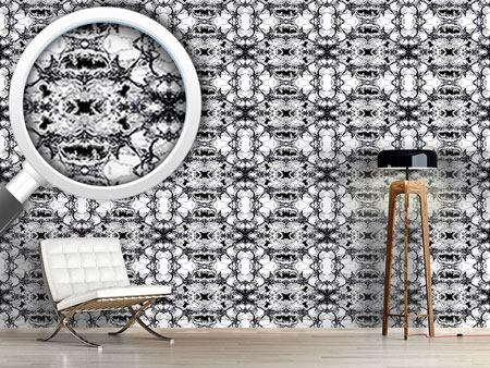 Pattern Wallpaper Black Marble