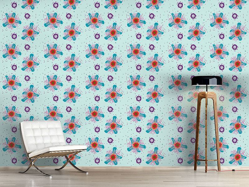 Pattern Wallpaper Sea Creatures