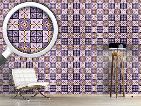 Papier peint design Crystal Tiles