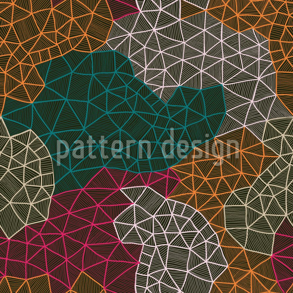 Papier peint design Mappers Network