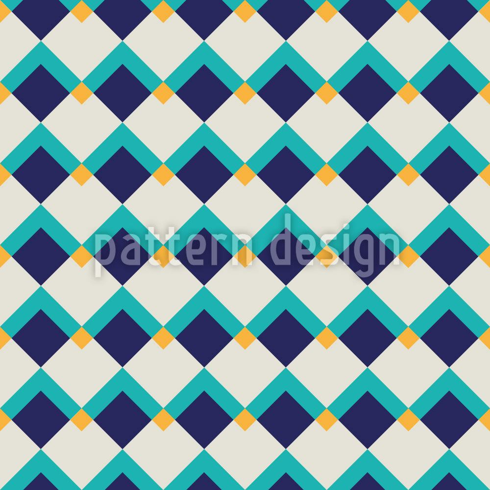 Pattern Wallpaper Happy Square