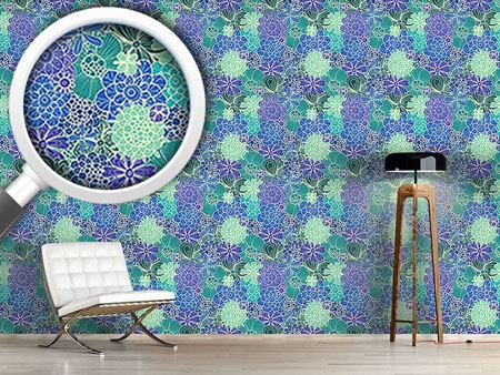 Pattern Wallpaper Flowers For Rusalka