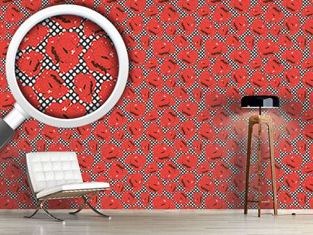 Papier peint design Poppy Love