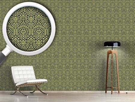 Pattern Wallpaper Jacquard Renaissance