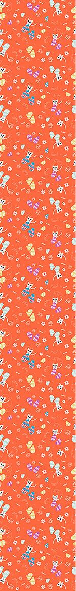 Pattern Wallpaper Kittens In Mittens