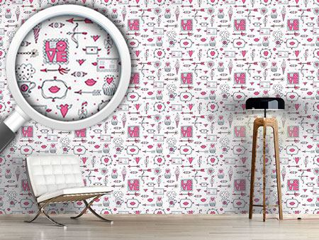 Pattern Wallpaper Love And Other Things