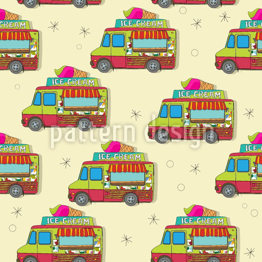 Pattern Wallpaper The Journey Of The Ice Cream Truck