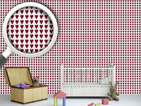 Pattern Wallpaper My Queen Of Hearts