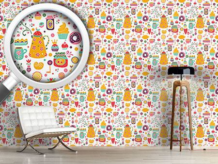 Pattern Wallpaper Sweet Joy