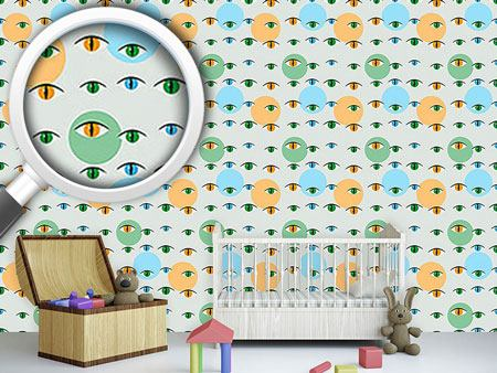 Pattern Wallpaper Cat Look