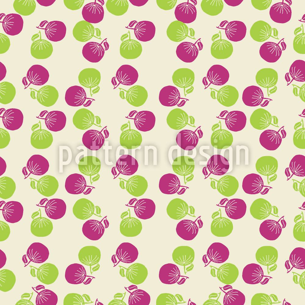 Papier peint design Summer Fruits