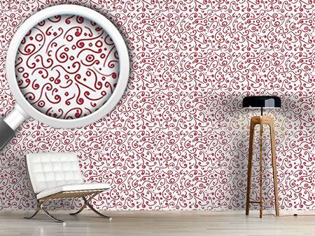 Pattern Wallpaper Sprightly Curls