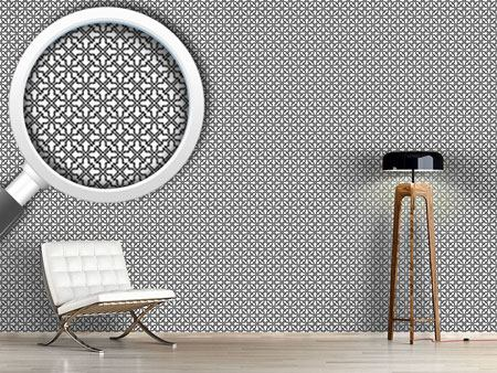 Pattern Wallpaper Moorish Lattice