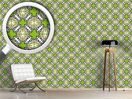 Pattern Wallpaper Postmodern
