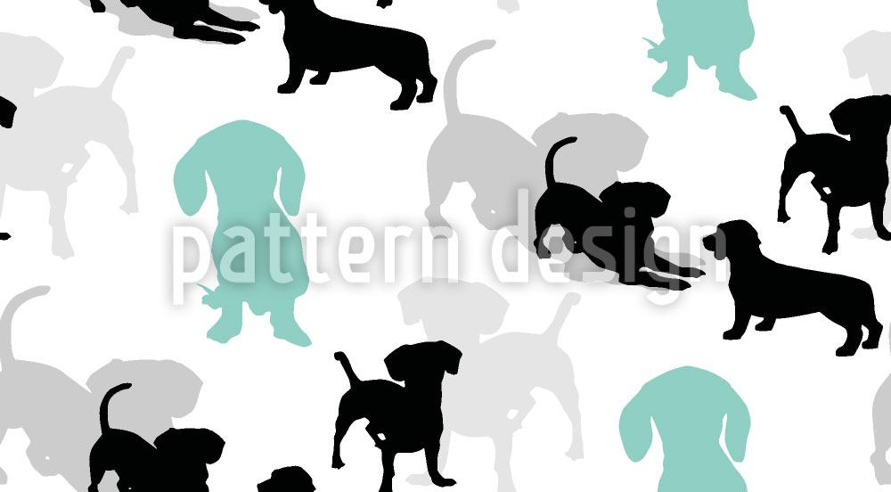 Papier peint design Puppies