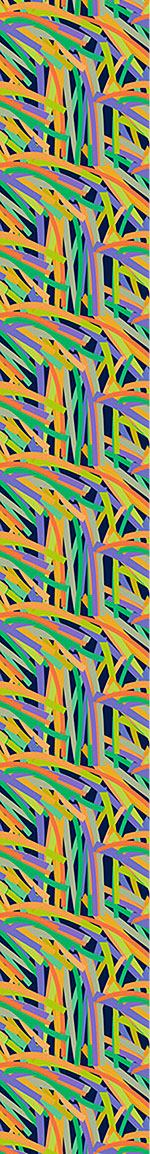 Papier peint design Stripe Jungle