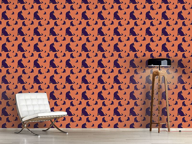 Pattern Wallpaper Watch Out For Cats