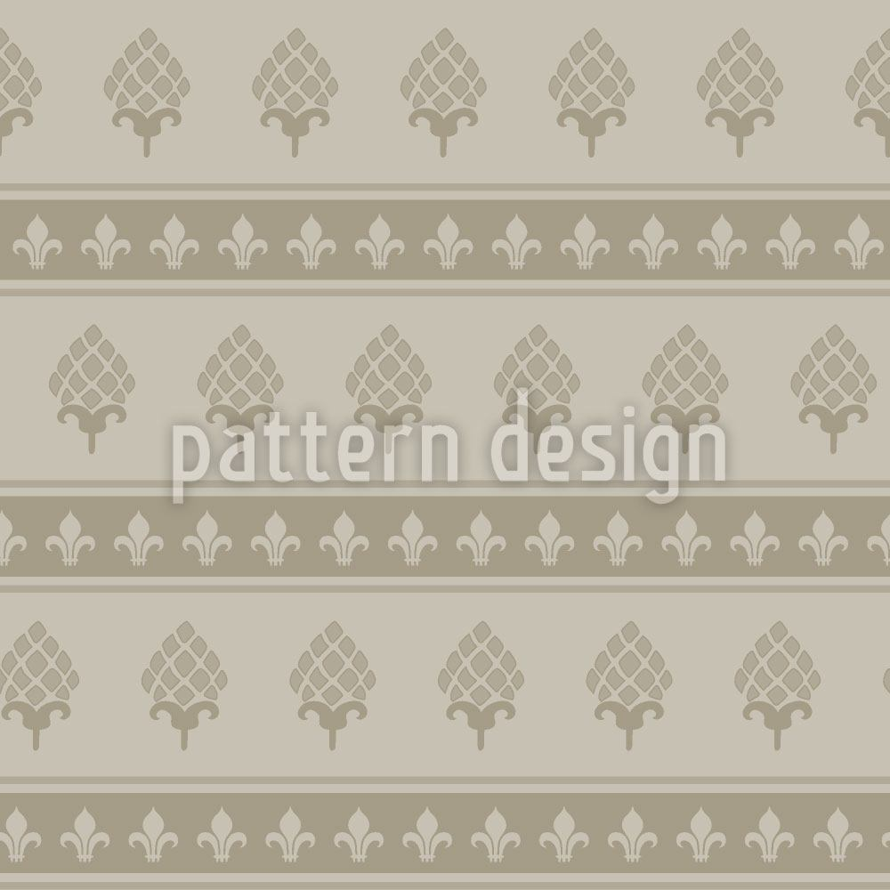 Papier peint design Royal Bourbon