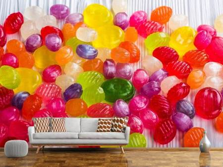Photo Wallpaper Colorful sweets