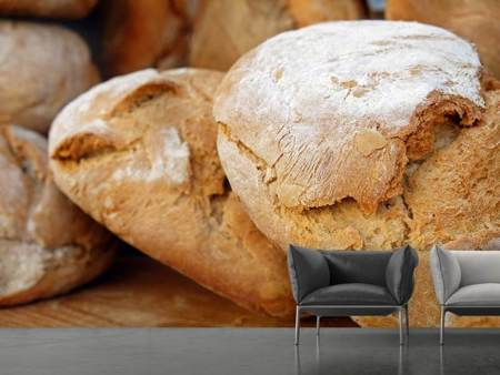 Photo Wallpaper Healthy bread
