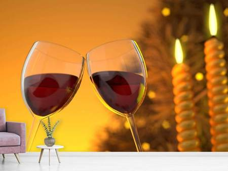 Photo Wallpaper We love red wine!
