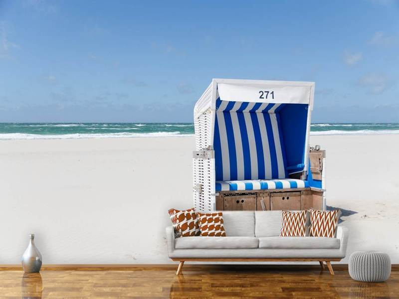 Photo Wallpaper Beach chair 271