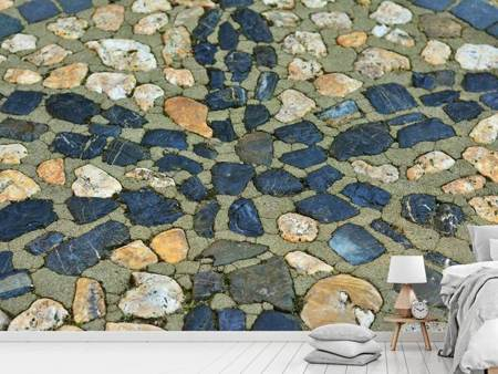 Photo Wallpaper Stone mosaic