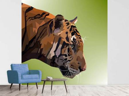 Papier peint photo Pop Art Tiger