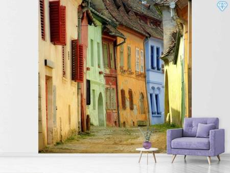 Papier peint photo Colorful Street