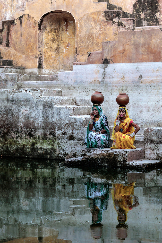 Fotomurale Stepwell Reflections