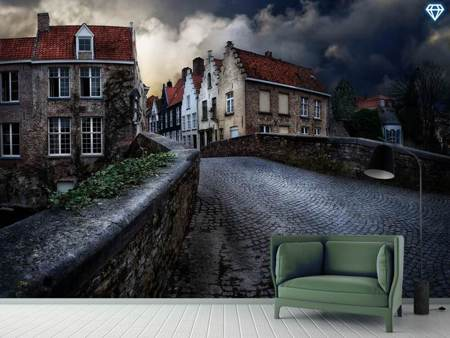 Photo Wallpaper An Evening In Bruges