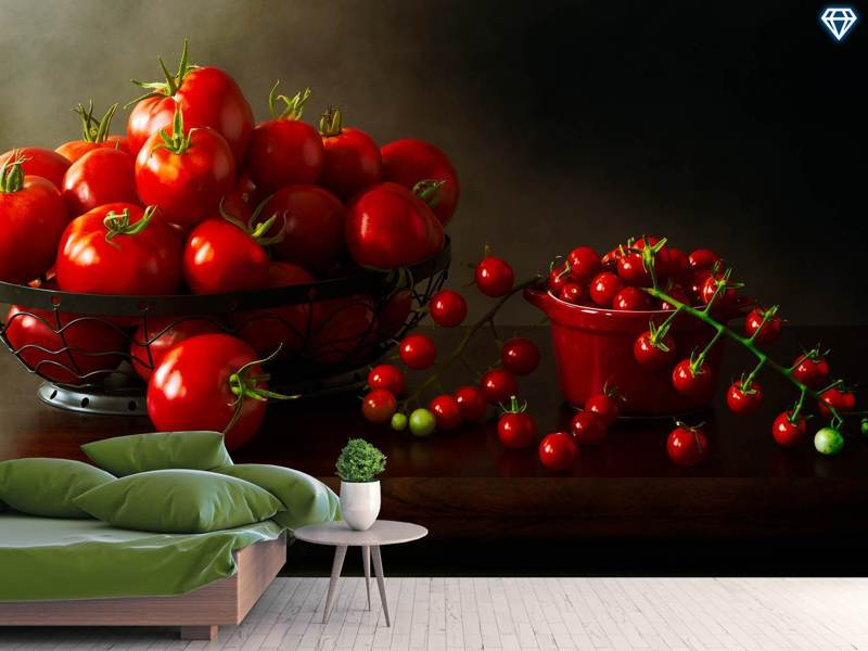 Photo Wallpaper Too Many Tomatoes