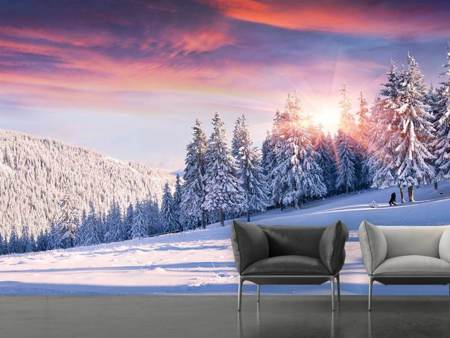 Photo Wallpaper Winter Landscape