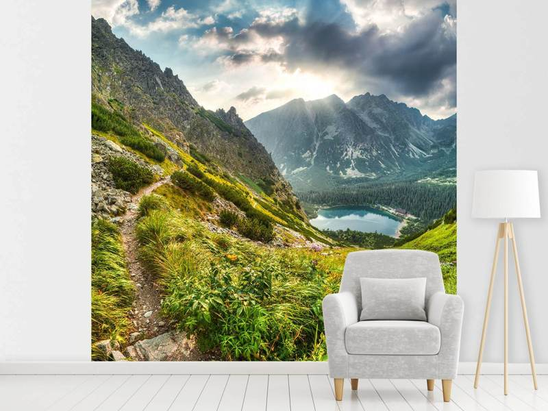 Photo Wallpaper Mountain Views