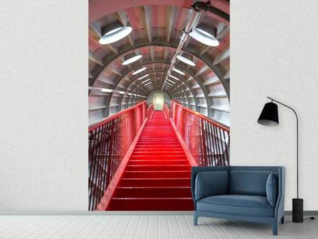 Photo Wallpaper Futuristic Staircase